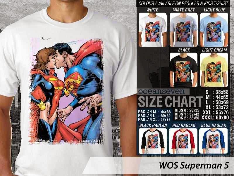 KAOS superman 5 Movie Series distro ocean seven