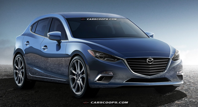 Future Cars: 2015 Mazda3 Hatchback Goes Kodo - Carscoops