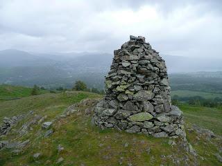 Black Crag Summit Cairn