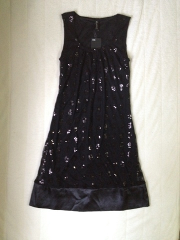*New* Hypnosis Black Sequin Dress $10
