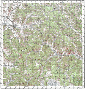 Map 100k--m45-039--(1981)