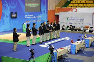 the technical officials & Judges