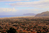 Palermo from the Rooftop of the Duomo - Monreale, Italy
