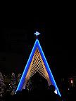 新宿サザンテラス広場のクリスマスイルミネーション2011