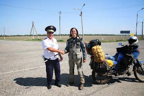Policijska provjera par km od Ingušetije