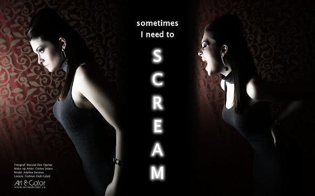 SCREAM - sedinte foto profesionale - http://artandcolor.ro