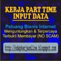 Lowongan Kerja Part Time Input Data