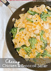 Cheesy Chicken and Broccoli Skillet