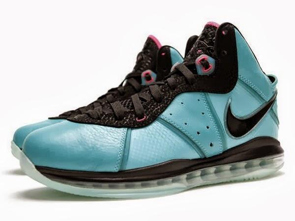 """Nike LeBron 8 V/1 - """"South Beach"""" QS"""