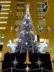 新宿NSビルのクリスマスツリー2013
