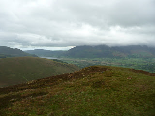 Bassenthwaite from Stile End Summit