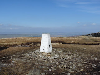Trig Pillar at Buckden Pike