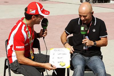 Марк Жене в гостях у laSexta на Гран-при Кореи 2011