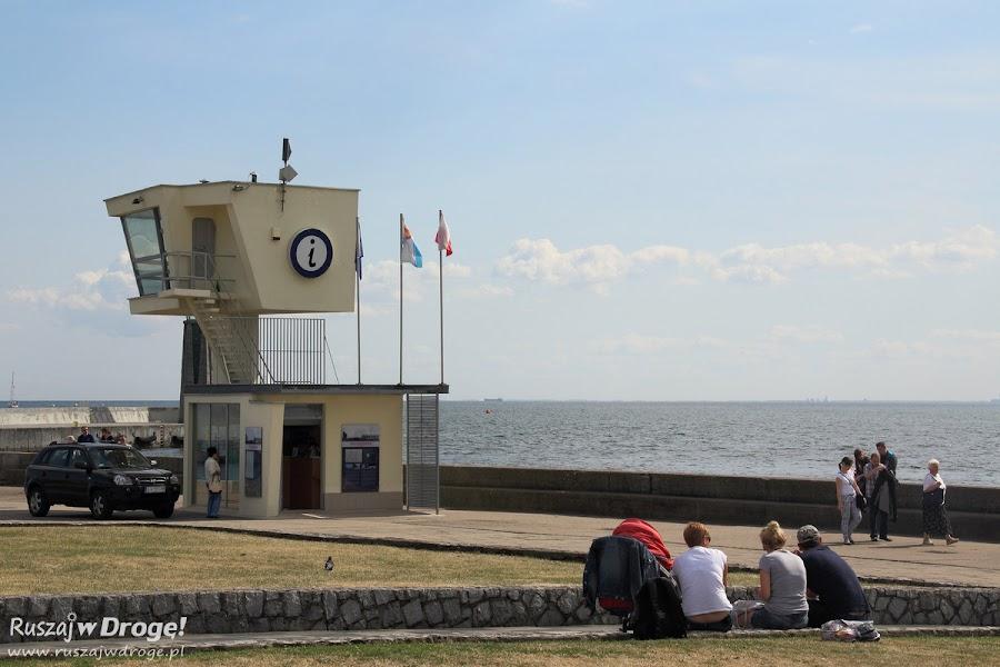 Informacja Turystyczna na Molo Południowym w Gdyni