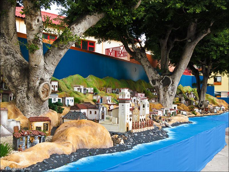 Тенерифе, Ла-Канделария, рождественский вертеп; Tenerife, La Candelaria