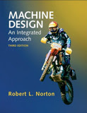 Text: Machine Design: An Integrated Approach. Description: Picture of Aaron's Product Design II text book.