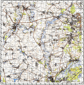 Map 100k--m36-093--(1987)