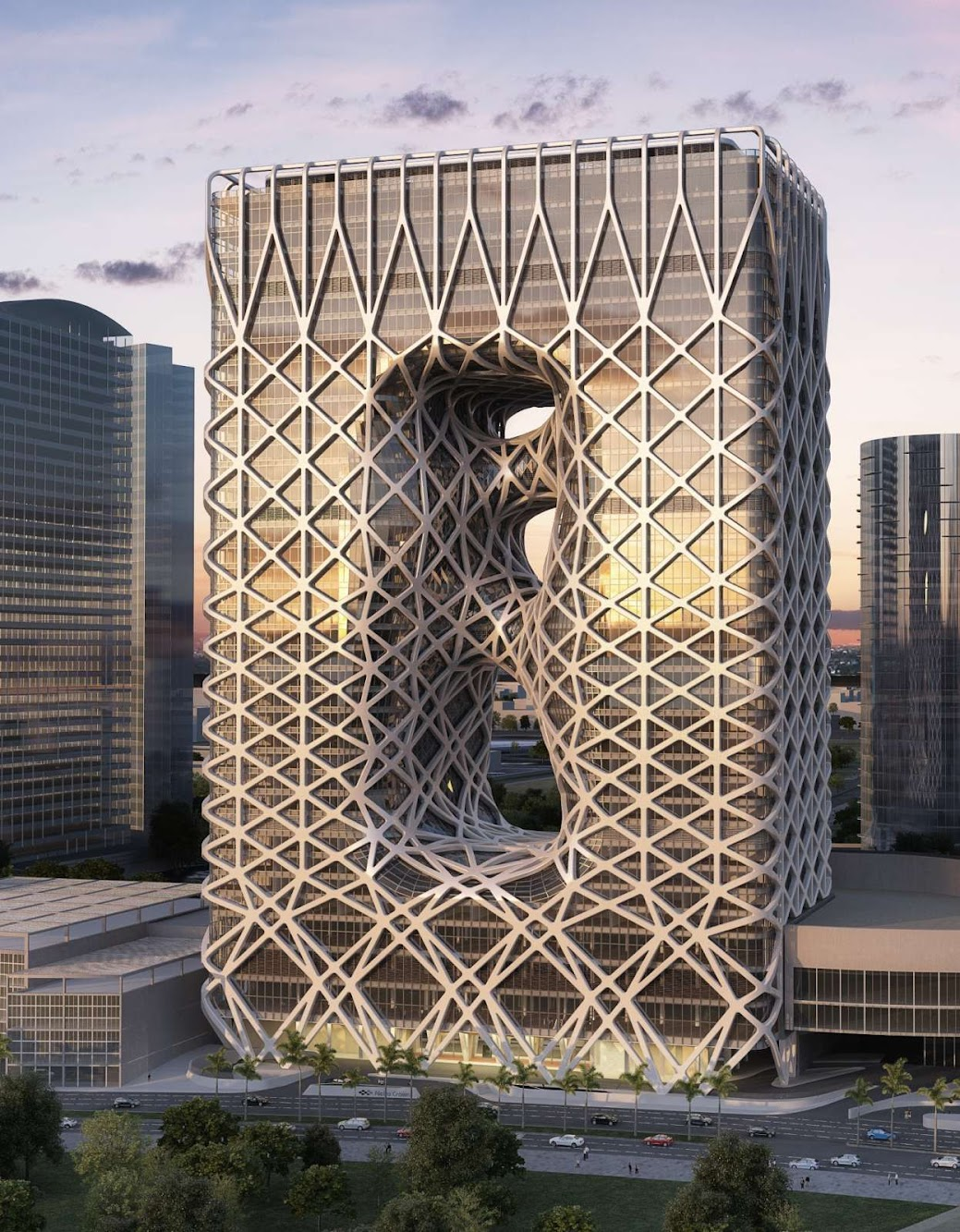 New Hotel in Macau by Zaha Hadid