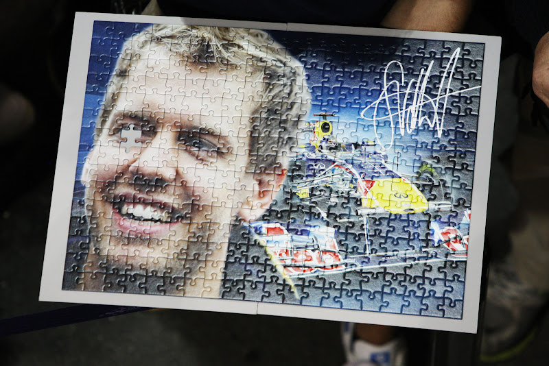 puzzle Себастьяна Феттеля на Гран-при Сингапура 2011