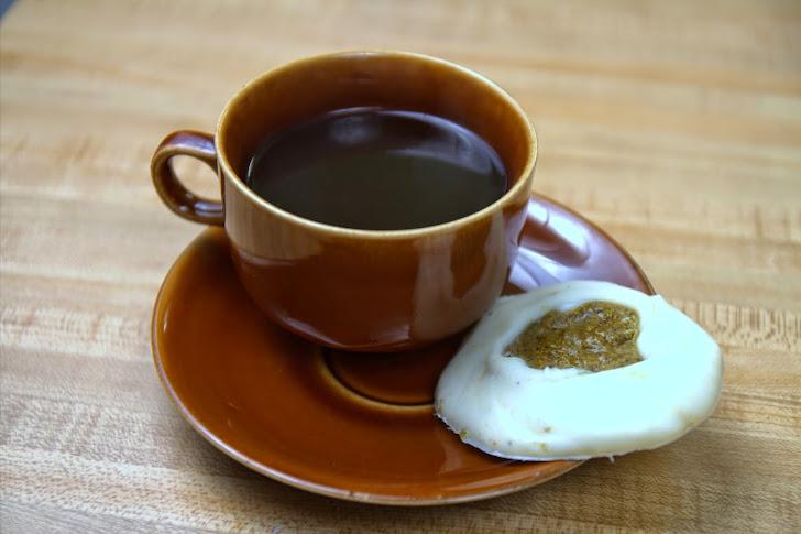 White Chocolate Pistachio Butter Espresso Savoury Bite