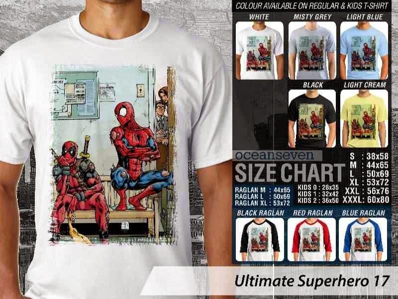 KAOS spiderman 17 Ultimate Superhero distro ocean seven