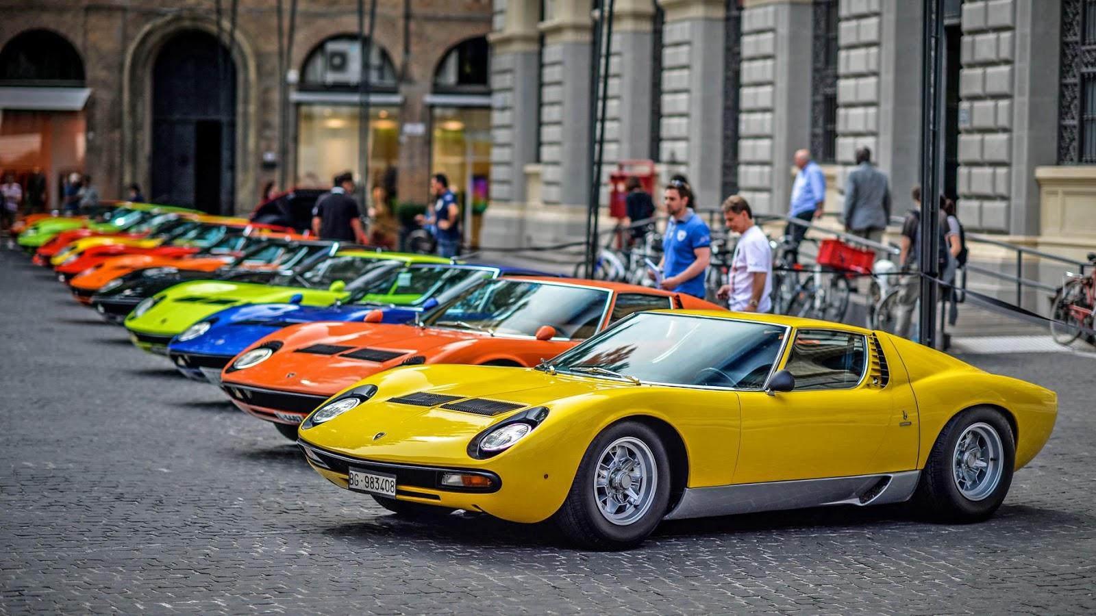 Lamborghini Miura là siêu xe đẹp nhất của Lamborghini từ trước đến nay