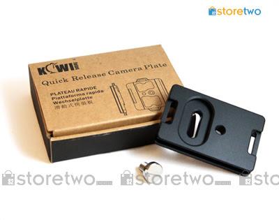 Kiwifotos Universal Arca-Swiss Type Quick Release Plate