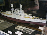 Model of U.S.S. Arizona