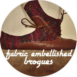 DIY floral shoes