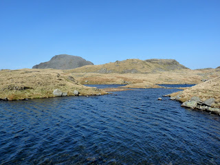 Great Gable and Sprinkling Tarn.