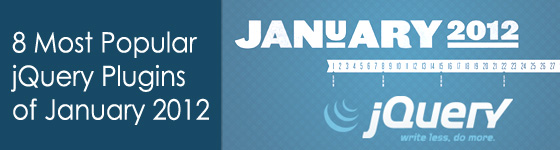 8 Most Popular jQuery Plugins of January 2012