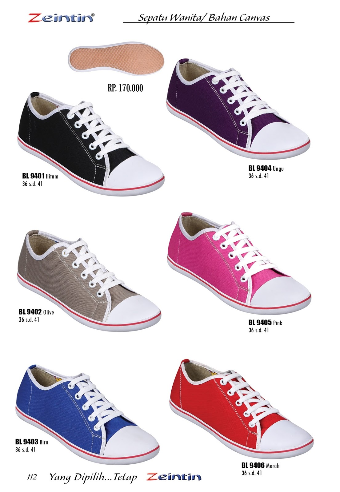 TasampSepatu Model Sepatu Olah Raga Wanita