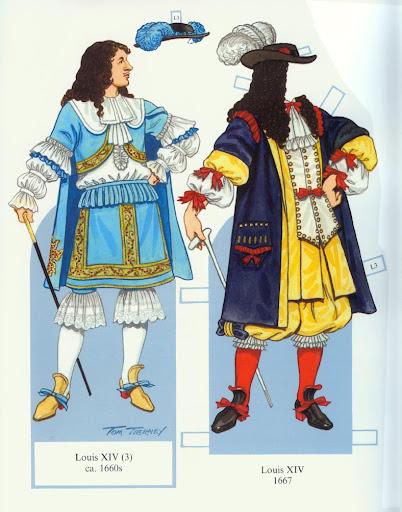 Французский костюм 2й половины