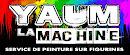Yaum la machine, service de peinture sur figurines