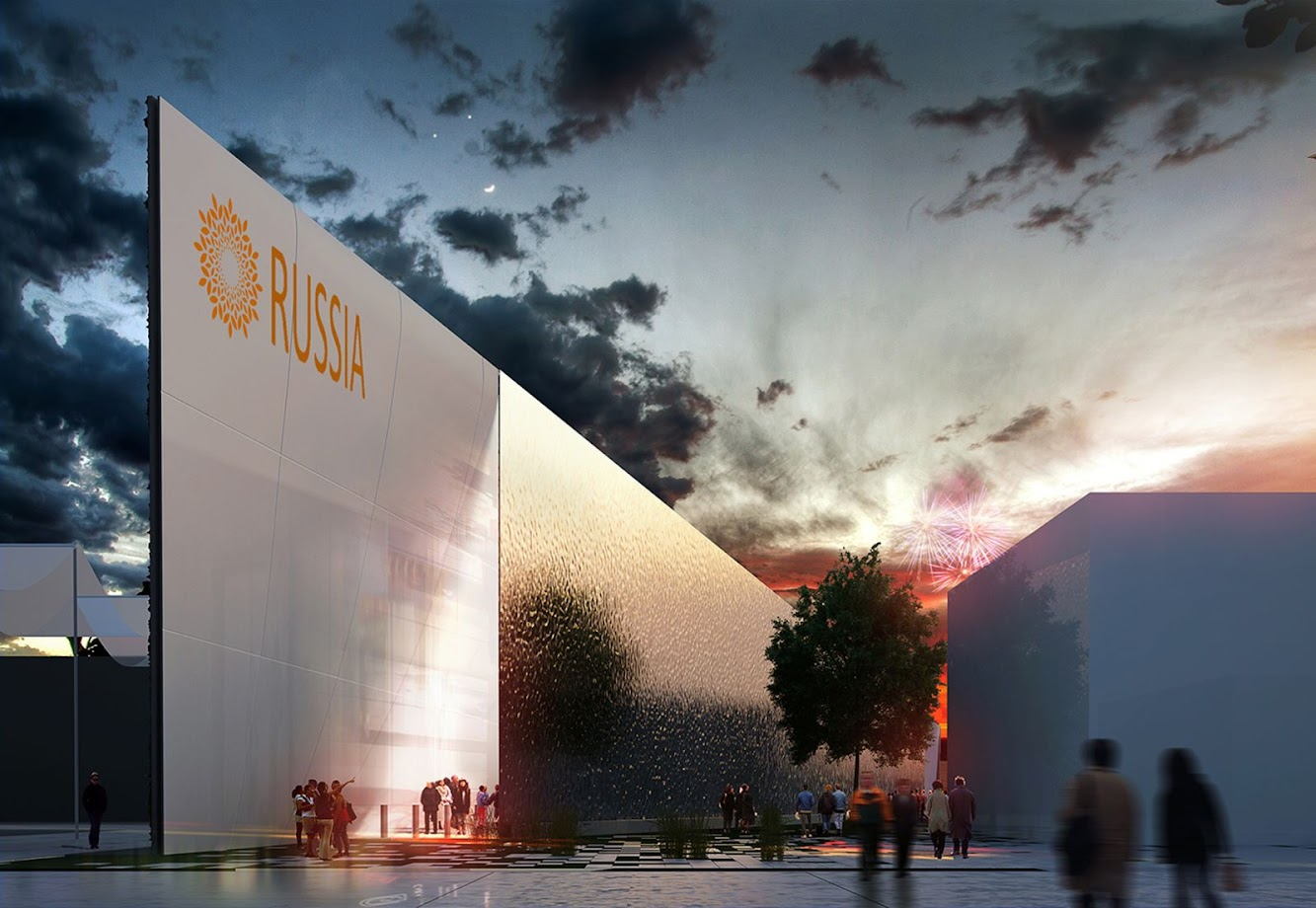 Pavilion: RUSSIAN PAVILION EXPO 2015 by ARCHITECTS of INVENTION