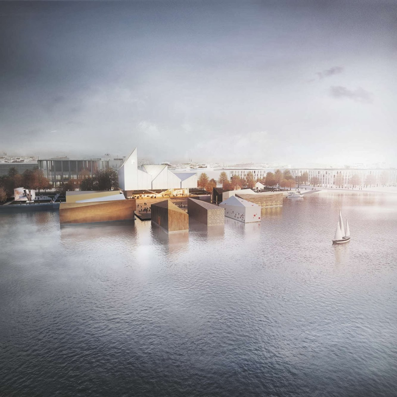 Pärnu, Pärnumaa, Estonia: Wxca Wins Baltic Sea Art Park Competition