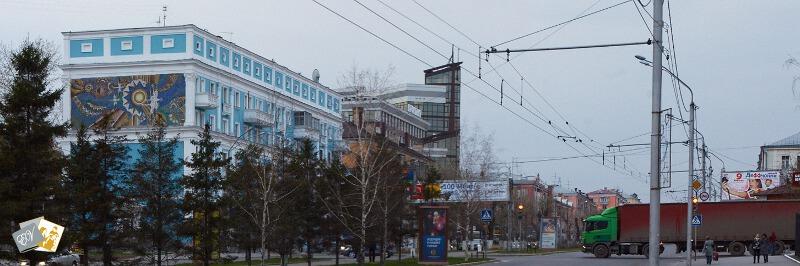 панорама Барнаула, панорама города, как сделать панораму