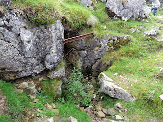Entrance to the caving system