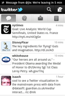 Twitter for Android screenshot