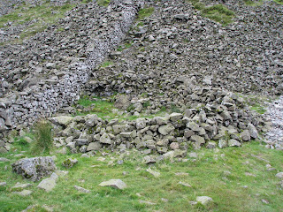 Sheepfold at Grisedale Hause