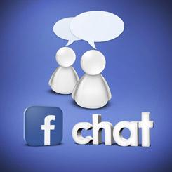 how to show offline status on facebook