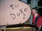 The Duke was snowed in here one night and left his mark