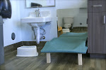 LePort Preschool Huntington Beach - Low changing table at Montessori childcare