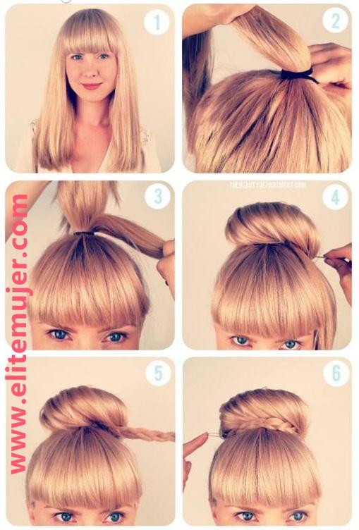 Peinados Faciles Rapidos Y Bonitos Peinados Para Nias Fciles