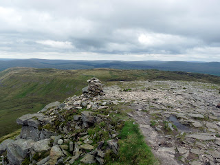 A cairn on Ingleborough
