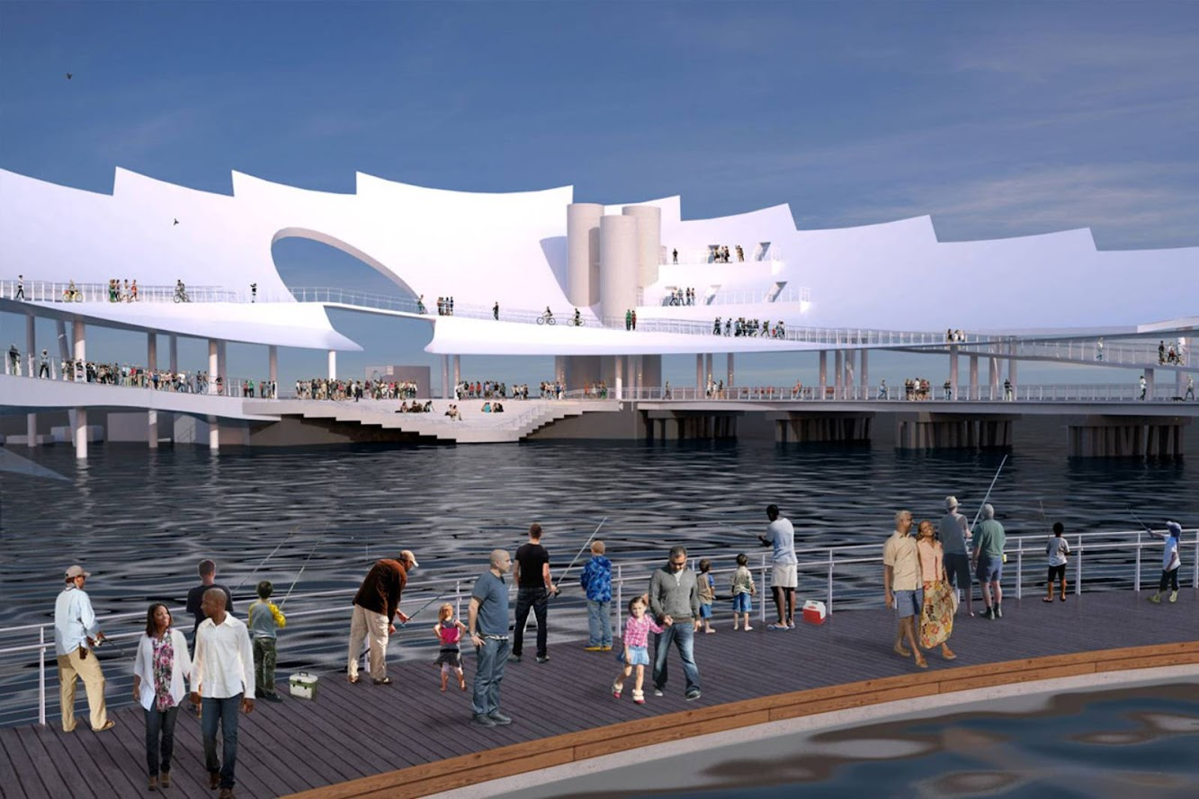 St Petersburg Pier by Michael Maltzan Architecture