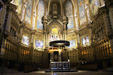 The High Altar At The Basilica - Montserrat, Spain