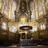 The High Altar At The Basilica - Montserrat, Spain