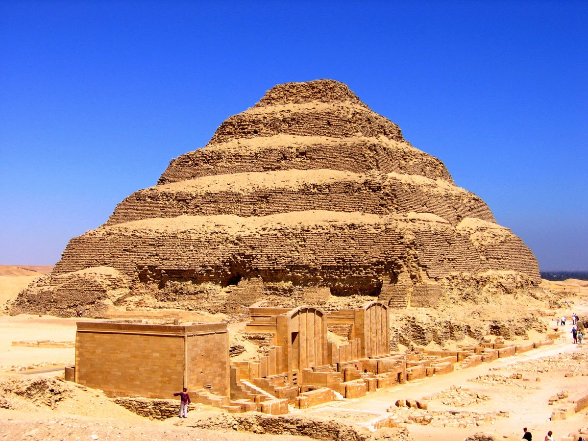Fixing Egypt's Stepped Pyramid with... socks