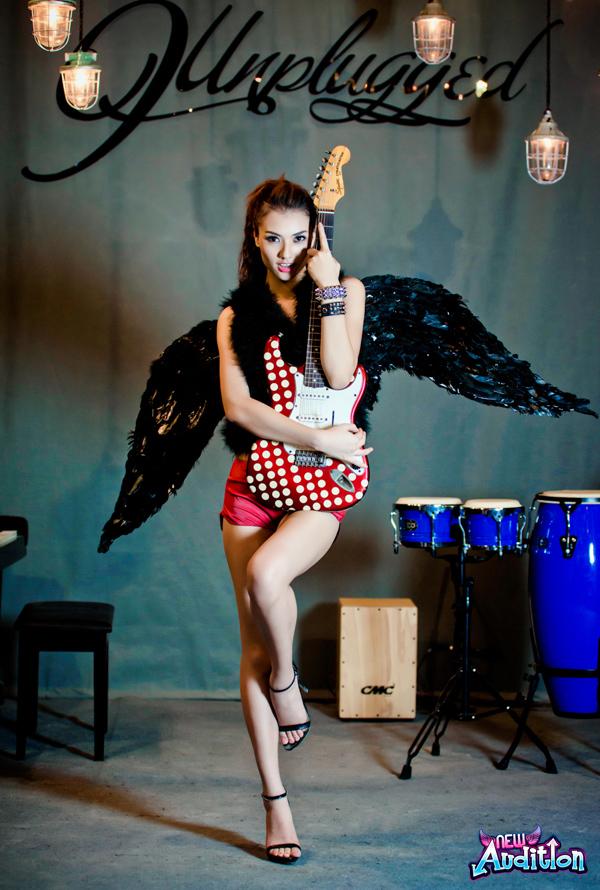 Hồng Quế quyến rũ với cánh thiên thần New Audition 9